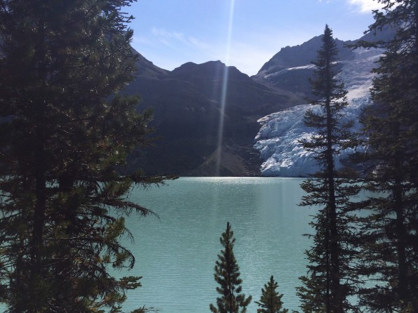 Wache ich oder träume ich? Berg Lake (Foto: Lisa Feldmann)