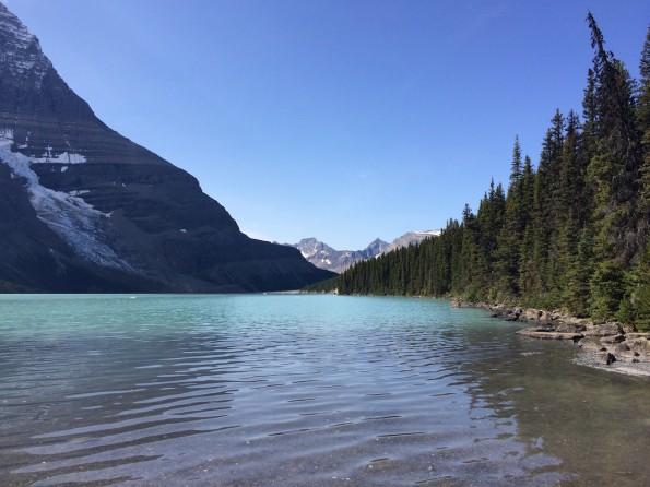 Der Berg Lake (Foto: Lisa Feldmann)