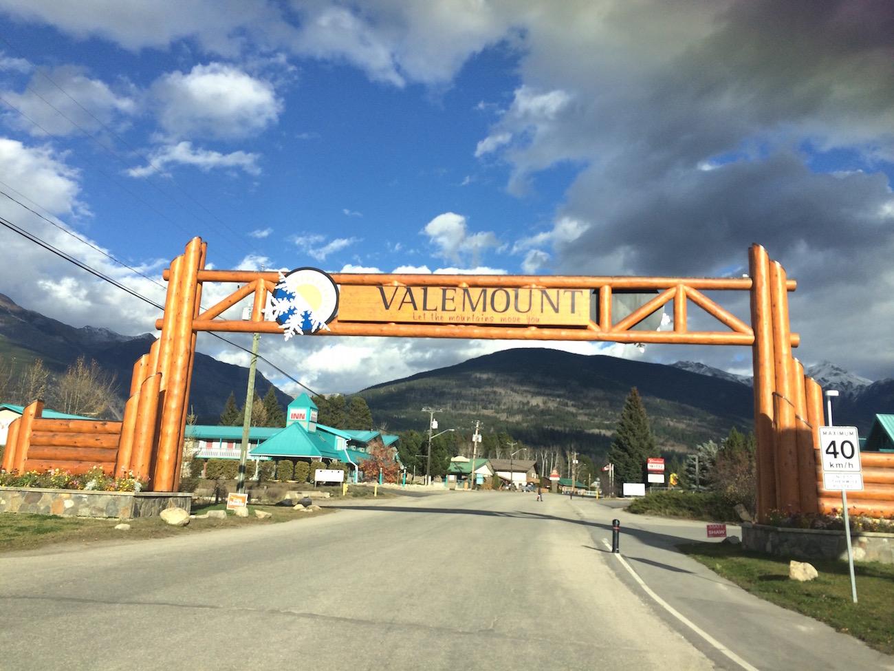 Willkommen in Valemount (Foto: Lisa Feldmann)