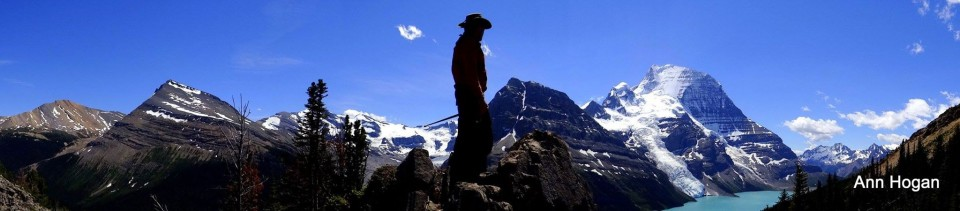 Heli Hike zum Mount Robson in den kanadischen Rocky Mountains (Foto/Copyright: Ann Hogan).